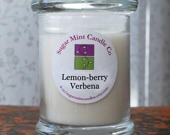 Lemon-berry Verbena Soy Candle - 8 oz