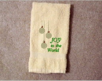 Kitchen Towel, towels, bath towel, embroidered towel, home and living, linens, Christmas decor, kitchen and dining, hand towels, holidays,