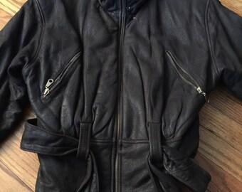 SALE Vintage leather jacket