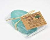 CLEARANCE- Shaving Soap for Men- Shave and Shampoo Soap Bar- Twilight Woods scented- Available for Shaving Mugs-2 oz