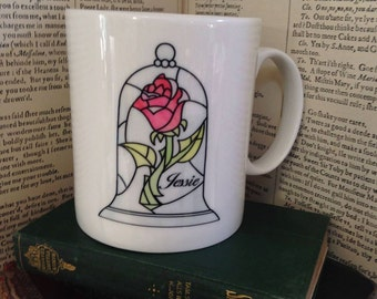 Beauty and the Beast Personalise - Tale As Old As Time mug