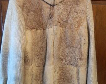Retro Avanti Fur Sweater Jacket