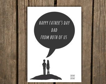 Father's Day Card, From Both of Us