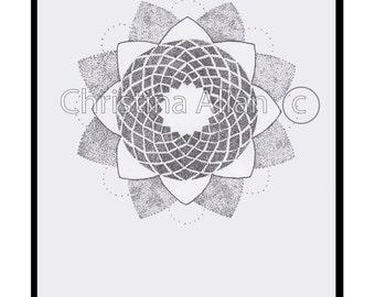 All dots A4 print