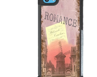 iPhone 5 5s 6 6s 6+ 6s+ SE 7 7+ iPod Touch 5 6 Phone Case, Romantic, France, French, Romance, Plus