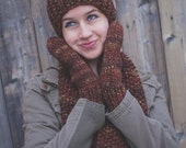 Super Bulky Mittens - Browns - Unisex