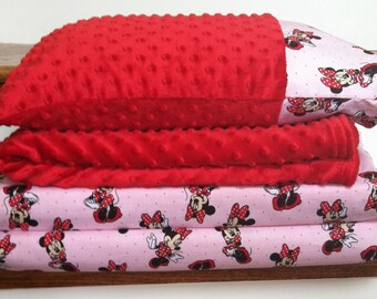 Minnie Mouse Nap Mat Set