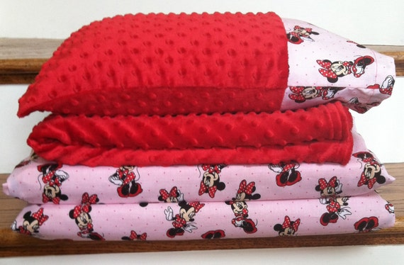 Minnie Mouse Nap Mat Set By Pootiecakecreations On Etsy