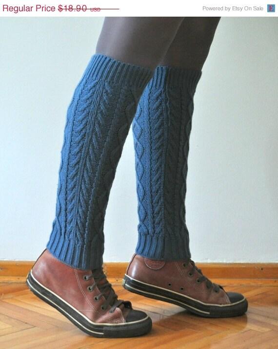 ON SALE Denim Blue Leg Warmers Womenu0026#39;s Leg By DokumaAccessories