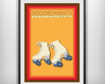 Boogie nights  minimal minimalist movie poster