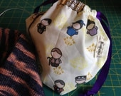 Downton Abbey: Sock Ditty Project Bag