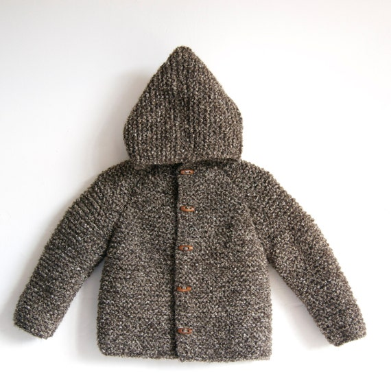 Hand Knitted Baby/Toddler %100 Wool-Boucle by NeslisHandcrafts