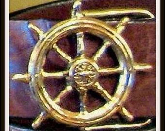 Ships Wheel Belt Buckle