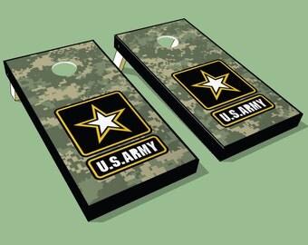 Army Cornhole Boards Etsy