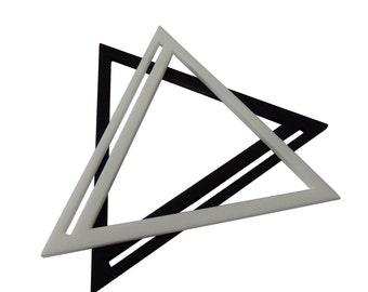 Open Triangle Bangle Geometric SALE LAST FEW