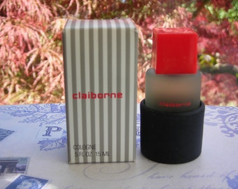 Claiborne for Men cologne, miniature 0.5 oz / 15 ml bottle, new in box, by Liz Claiborne.