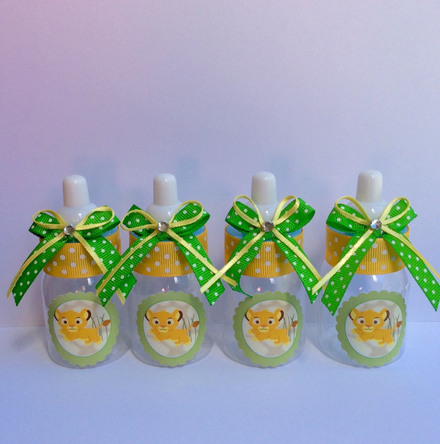 Lion Baby Shower Ideas: 12 Small 3.5 Lion King Baby Shower Baby Bottles Lion