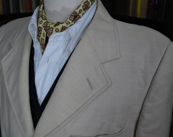 Linen Jacket, Sportcoat, Gatsby, Summer Style; chest 40-42""