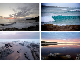 Four Prints 8x12 discounted. Landscape Photography, Beach Photography,