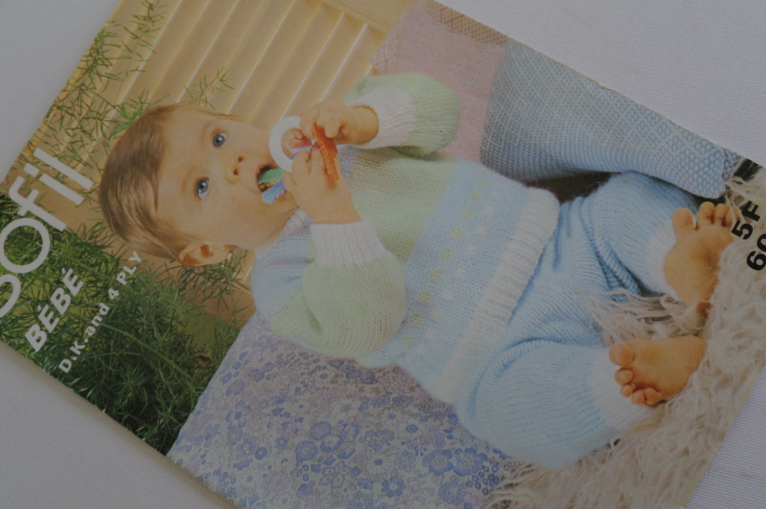 Vintage Baby Knitting Pattern Book 10 different Knits