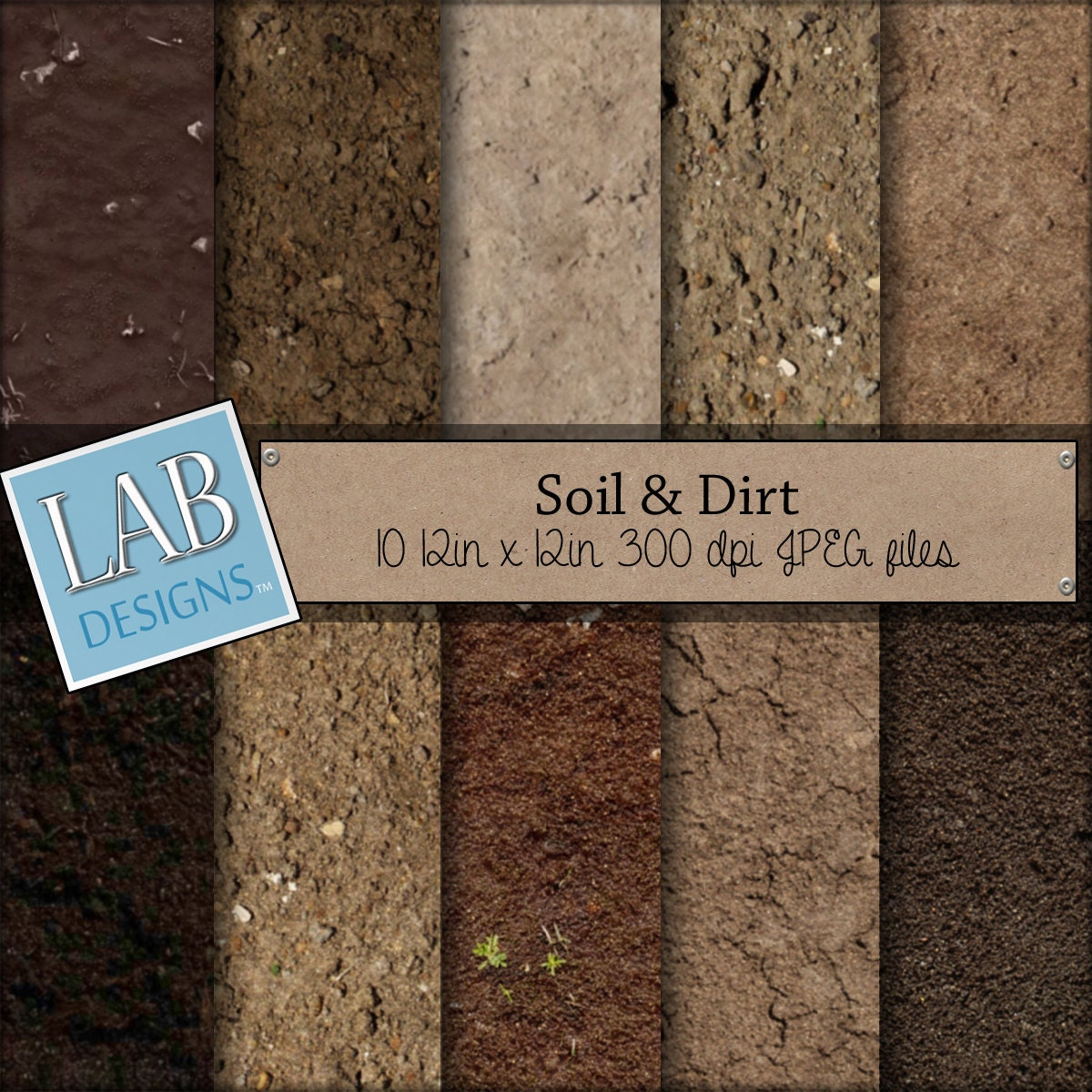 Soil and dirt digital paper ground background digital for Dirt and soil