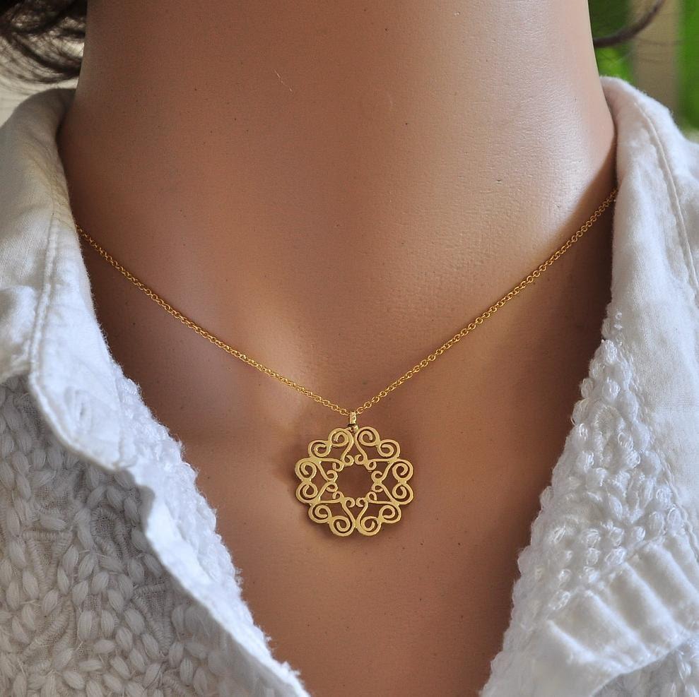 Fine jewelry solid gold jewelry necklace 14k gold necklace for What is fine jewelry