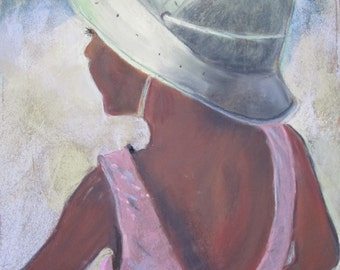 Girl in Pith Helmet