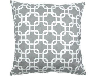 Cushion cover 50 x 50 cm grey white GOTCHA