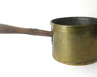 Antique Brass & Copper Pot