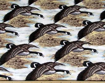 Per Yard, Geese In Flight  Fabric