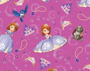 Disney Sofia and Friends Fabric From Springs Creative By the Yard