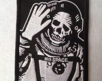 Spaceman patch very cool for your coat. Patch Title Spaceman embleem van 9.4 x 7 cm (3.7x 2.7 in)