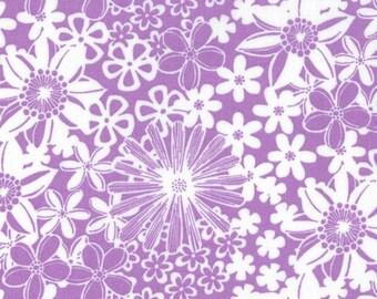 1/2 Yard - The Linen Cupboard - TE 2022 PU - Grace Purple - Emma Jean Jansen - Ella Blue Fabrics - Fabric Yardage