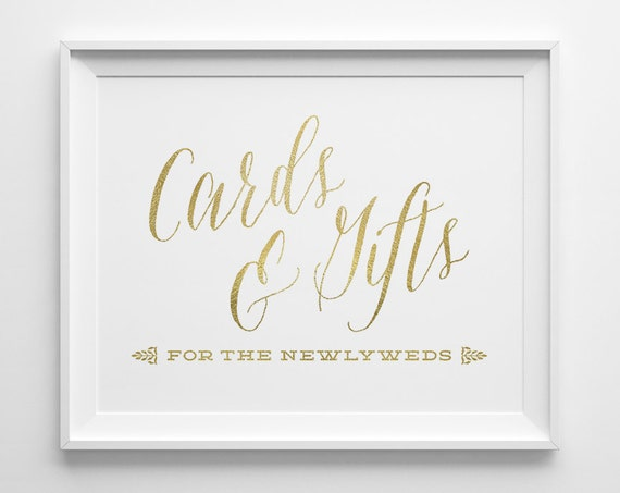Wedding Gift Card Sign : Romantic Wedding Signs, Wedding Cards and Gifts Sign, Gift Table Sign ...