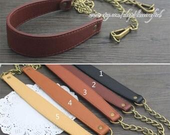 leather strap bag strap purse strap bag leather strap purse leather strap purse handle 1 pc leather metal bronze chain clasp strap
