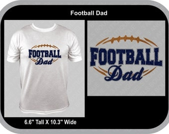 Football Dad Silhouette SVG Cutter Design INSTANT DOWNLOAD