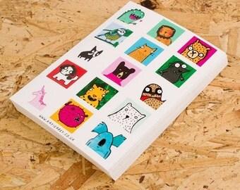Katie's Characters - Sticker Sheet