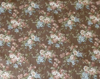 Cotton Fabric, Quilt, Home Decor, Floral, Roses, Penelope,Riley Blake,C4411,Fast Shipping,F172