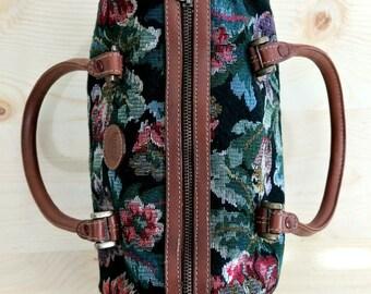 90's Floral Bag Vintage Floral