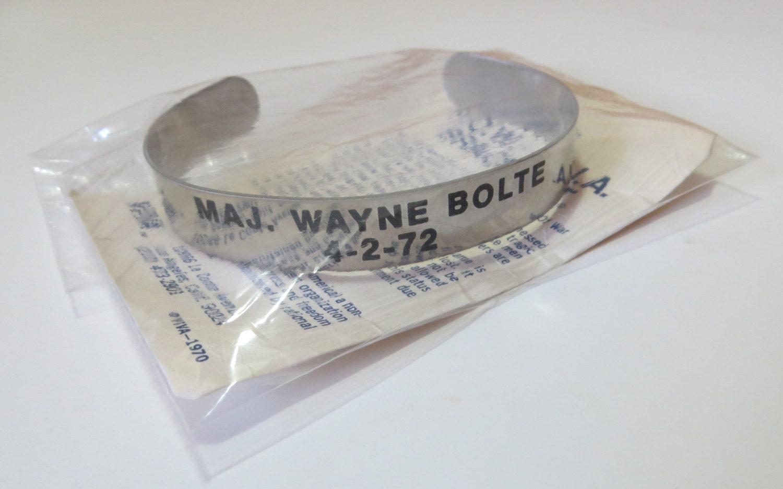 viva pow bracelet major wayne bolte open