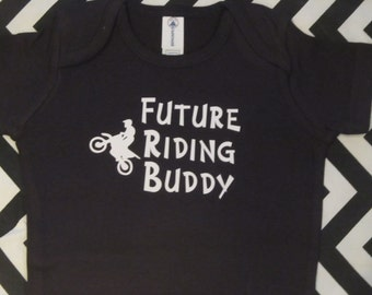 Future Riding Buddy, dirtbike baby boy clothes, dirtbike baby shower, dirt bike baby shower, dirt bike baby boy, dirt bike baby girl