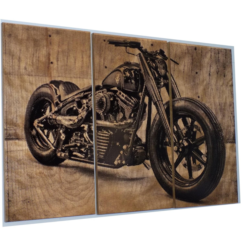 Harley Davidson Fatboy / Softail / Motorcycle / Bike Print