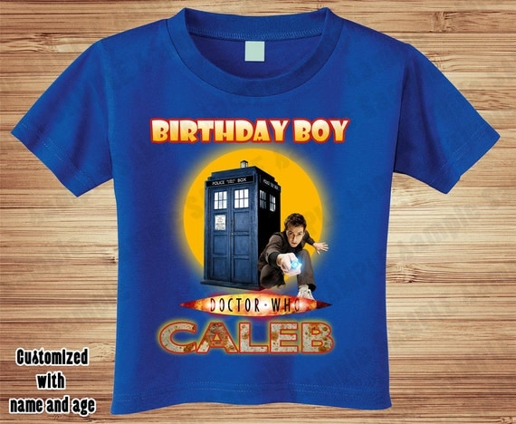 Doctor Who Birthday with #10