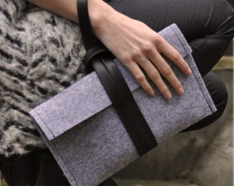 DIY-kit Felt Clutch