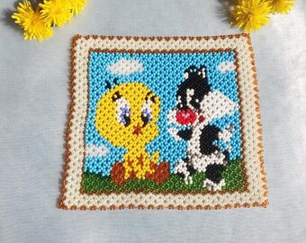 Schema Square Baby Tweety and Sylvester