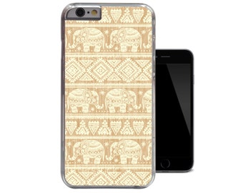 Ornate Elephant iPhone 6 Case Aztec iPhone 5 Case Tribal iPhone 5c Case Wood iPhone 4 Case Protective iPhone 4s 5s Cover (A198)