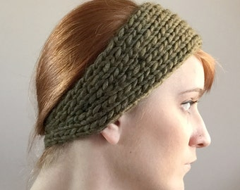 Evergreen Knit Headband