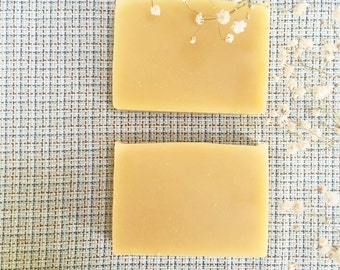 Baby soap, goat milk soap