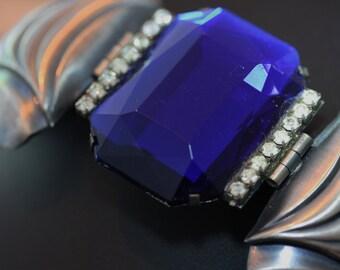 Wonderful, Bold, vintage Ermani Bulatti Deco Bracelet.