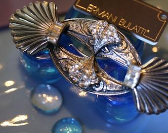 Lovely Ermani Bulatti Vintage Art Deco Pin